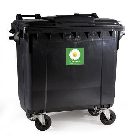 Pojemnik na odpady bytowe 770 l