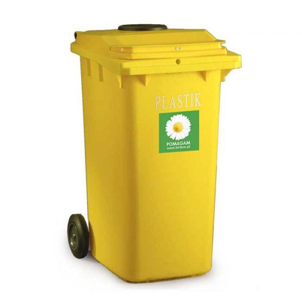 śmietnik MGB 240L plastik