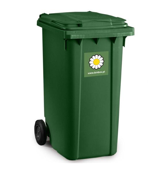 pojemnik na odpady mgb 240l zielony