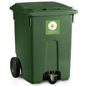Pojemnik na odpady bytowe 400 l