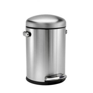 RETRO kosz na śmieci 4.5L pedałowy