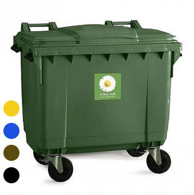 Pojemnik na odpady bytowe 660 l