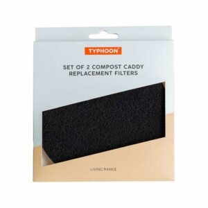 Zestaw 2 filtrów węglowych do kompostowników